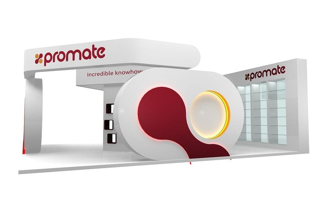 How a bespoke Exhibition Stand for Promate emerged quicker than modern evolving technology and all ironically for The Gadget Show Live!