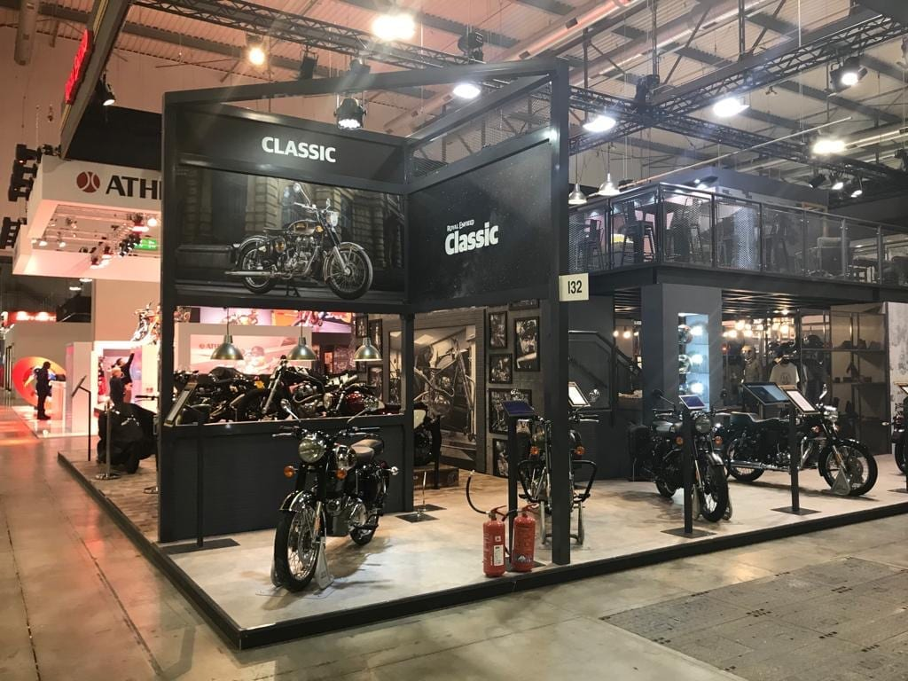 ROYAL ENFIELD EXHIBITION STAND DESIGN AND BUILD