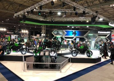 KAWASAKI EXHIBITION STAND DESIGN AND BUILD