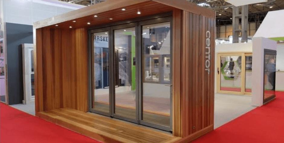 Centor – Indoor / Outdoor trade show display.