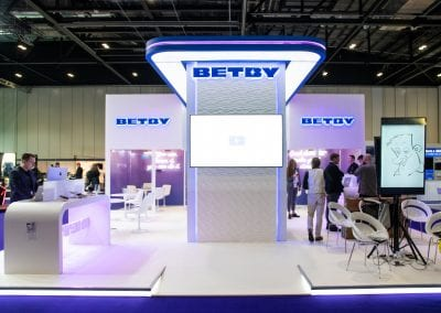 BETBY EXHIBITION STAND DESIGN AND BUILD