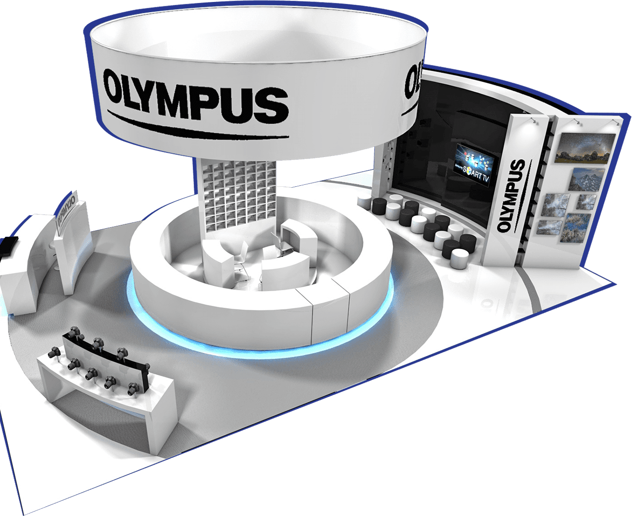 olympus-stand
